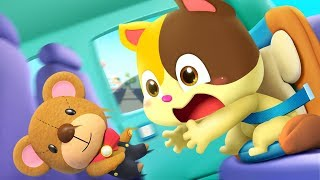 I don't Like Child Safety Seat   Play Safe   Nursery Rhymes   Kids Song   Kids Cartoon   BabyBus