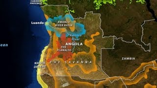 Angola - Geography