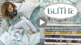 Sewing projects made with Blithe collection by Katarina Rocella