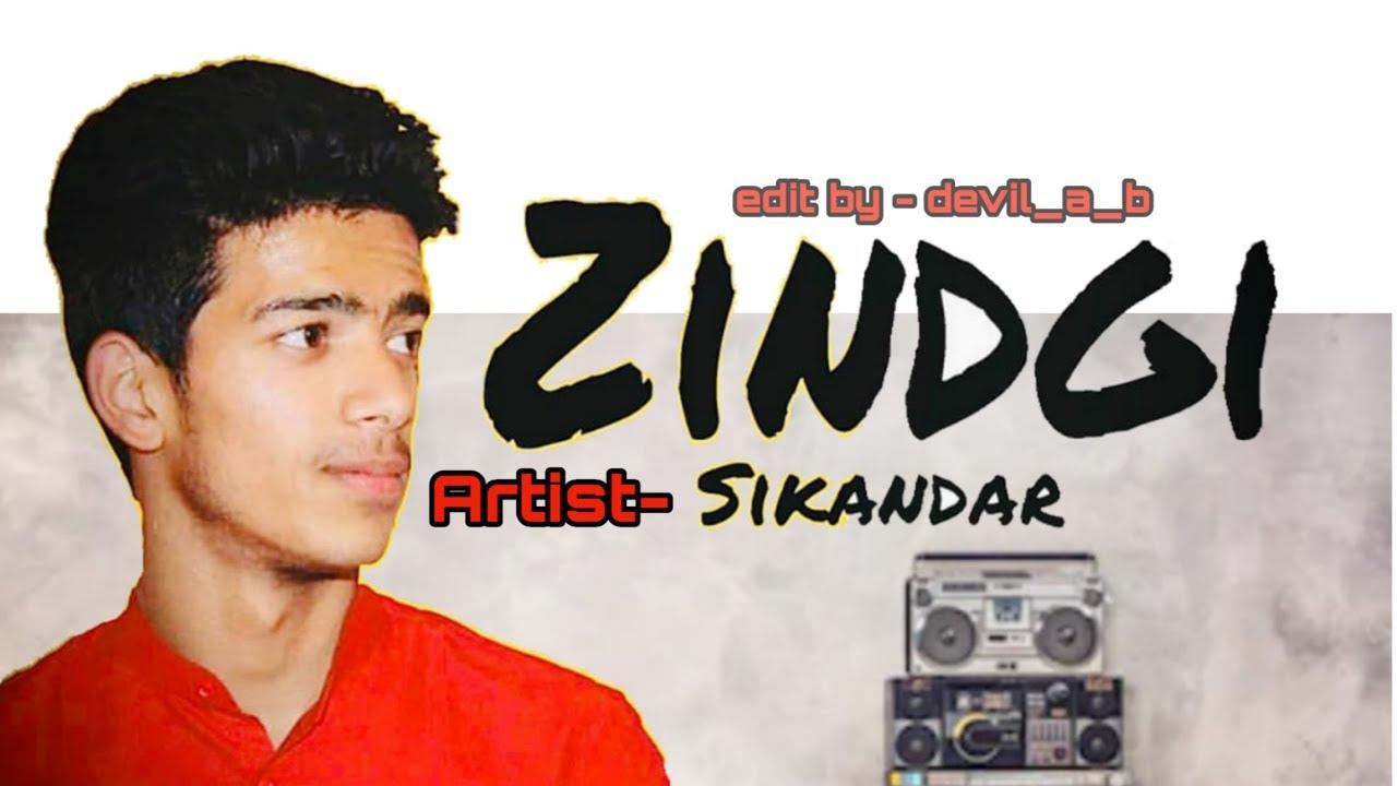 zindagi | New Hindi Rap Song 2020 - #LyricsBEAT