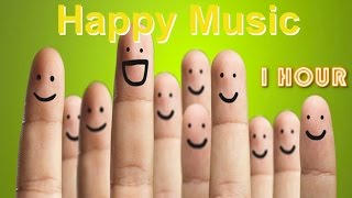 Happy Background Music: Happy Background Music Instrumental For Videos (1 Hour)