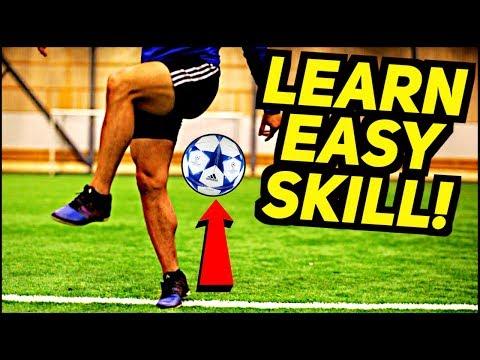 Learn This EASY & AMAZING Freestyle Skill FAST! (Ronaldo/Messi/Neymar Football Skills)