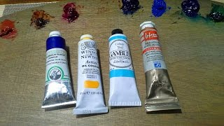 What Brands of Oil Paint Should You Buy?