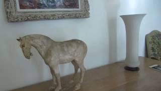 preview picture of video 'בית חיים ויצמן (מכון ויצמן למדע) - הטרקלין בבית של ורה וחיים ויצמן Weizmann House, Israel'