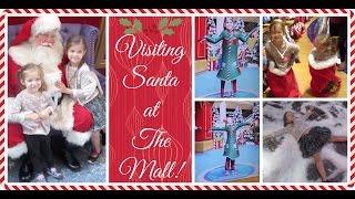Visiting Santa at the Mall Already?!?