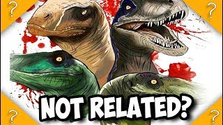 The RAPTORS in Jurassic world are NOT SIBLINGS