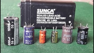 """How To Check """"Capacitor"""" (Simple & Easyway)"""