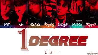 GOT7 (갓세븐) - '1 DEGREE' (1°) Lyrics [Color Coded_Han_Rom_Eng]