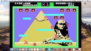 Bomb Jack (SG -1000 Emulator) MAC Tutorial