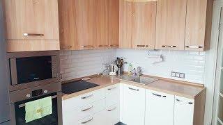 Дизайн кухни 9 кв м  П-44Т (панельный дом)    ♥ Ремонт квартиры #1  ♥ Анастасия Латышева