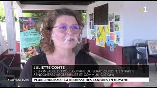 Guyane Soir – Guyane la 1ère – Journée du Plurilinguisme – 25.09.2021