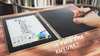 Lenovo Yoga Book Review Windows 10 Version Review & Unboxing