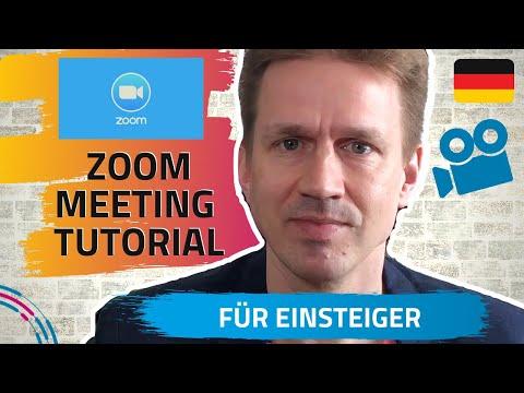 Zoom Meeting Tutorial Deutsch - Online Videokonferenz Software für das Arbeiten von Zuhause (1)