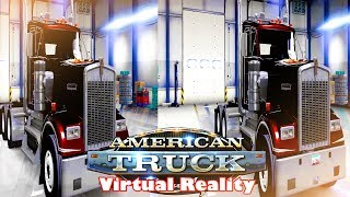 3D - KENWORTH W900 Day Cab POV - ATS1 VR Videos 3D SBS [Google Cardboard VR] Virtual Reality VR Box