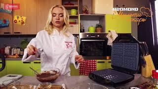 Шоколадные вафли: пошаговый видео-рецепт от Анастасии Зурабовой