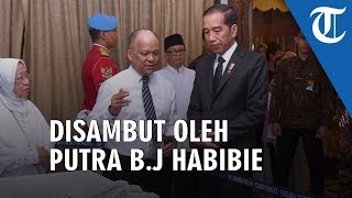 Melayat ke Rumah Duka BJ Habibie, Presiden Jokowi Turut Salatkan Jenazah