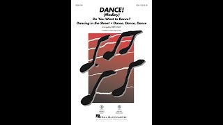 DANCE! (Medley) (SSA)   Arranged By Kirby Shaw