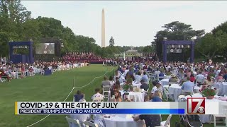 President Trump holds 'Salute to America' event on July 4th