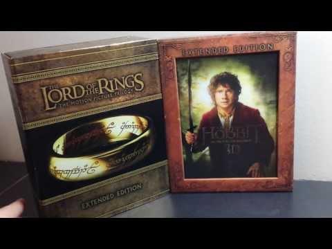 The Hobbit: A.U.J. 3D Extended Edition Blu-ray vs. LOTR E.E. Blu-ray (Detailed)