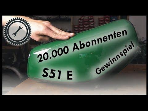 20.000 Abonnenten - Simson S51 Enduro Aufbau + Gewinnspiel