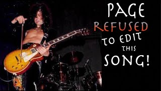 The Song Jimmy Page Refused To Edit For Radio and How To Play It!