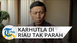 Karhutla di Riau Tak Separah yang Diberitakan