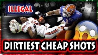 Dirtiest Cheap Shots in Football History (NFL, NCAA, CFL)