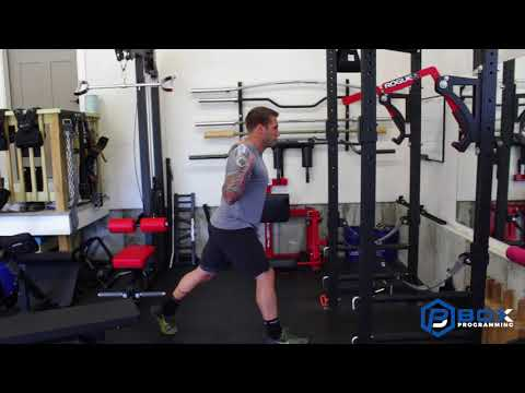 Barbell Split Squat