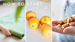 How to START a Healthy Lifestyle | 7 pillars of good health