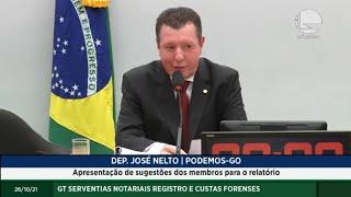 GT SERVENTIAS NOTARIAIS REGISTRO E CUSTAS FORENSES - Apresentação de sugestões dos membros para o relatório - 26/10/2021 10:00