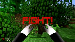 """GAME BATTLE - SLENDER VS. MINECRAFT GUY - """"Games mixed up!"""" Ep. 3"""