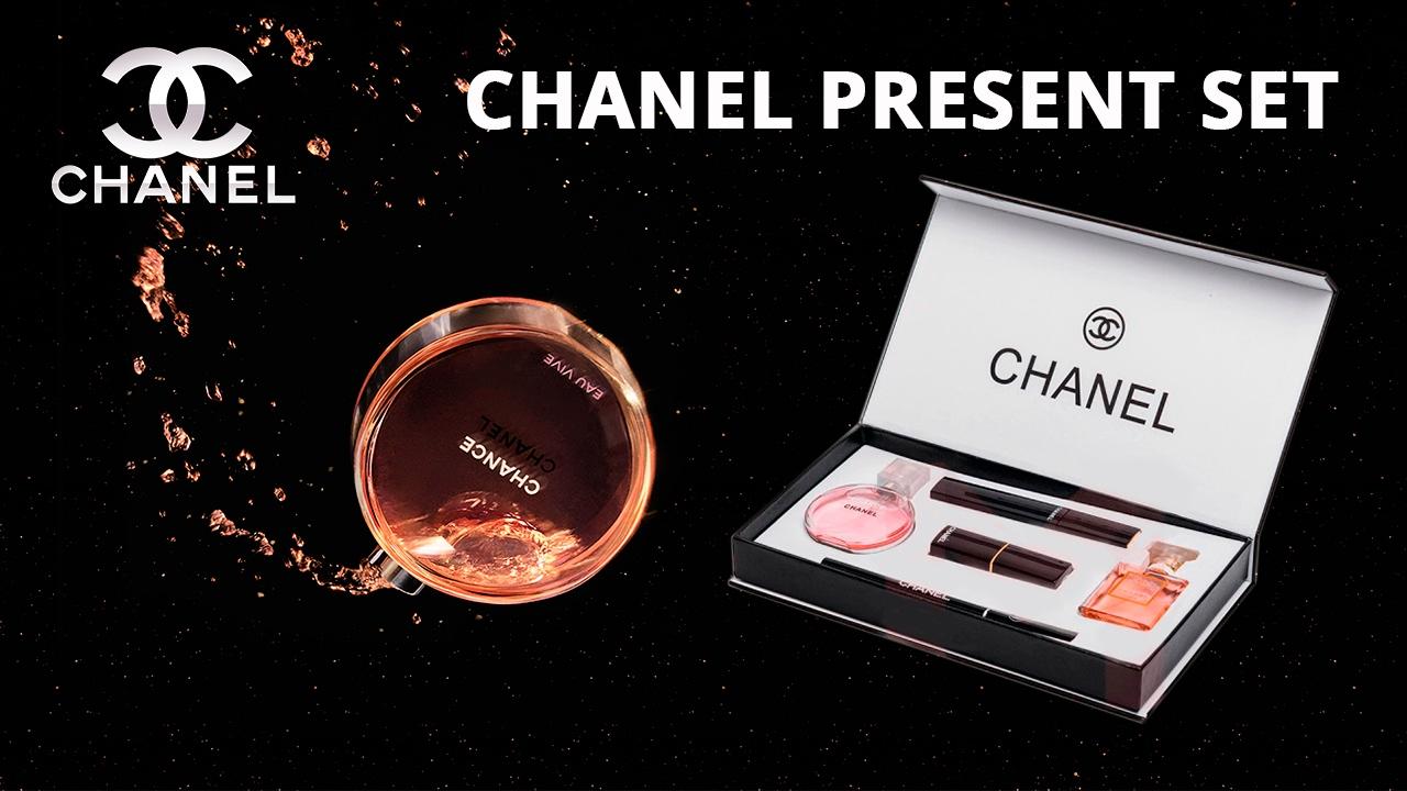 Видео Набор 5 в 1 от Chanel