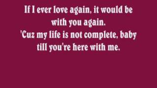 Tatyana Ali - If I Ever Love Again (Lyrics)