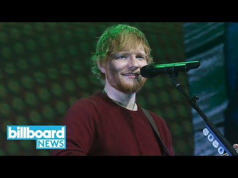 Ed Sheeran's 'No. 6 Collaborations' Pop-Up Shops to Take Place in U.S. | Billboard News
