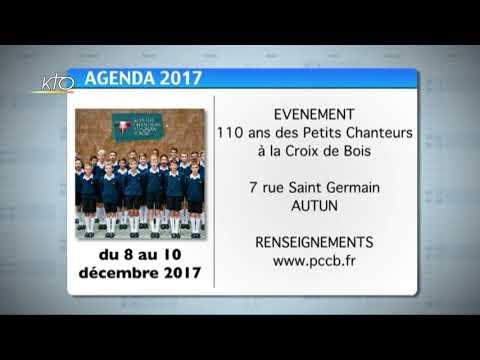 Agenda du 24 novembre 2017