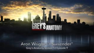 Aron Wright-I Surrender Grey's Anatomy Season 12 Episode 9