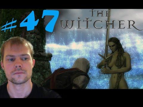 Ведьмак 1 (The Witcher) #47 - Отличный меч от Владычицы Озера (сложность, прохождение, обзор)