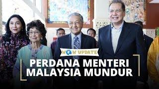 Secara Mengejutkan Perdana Menteri Malaysia Mahathir Meletakkan Jabatan