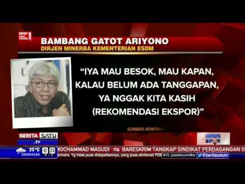 Hari Ini Izin Ekspor Konsentrat Freeport Indonesia Berakhir