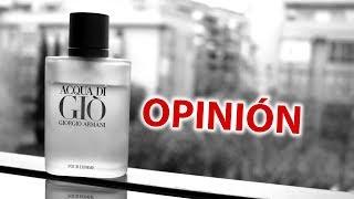 Giorgio Armani Acqua Di Gio Para Hombre - Opinión