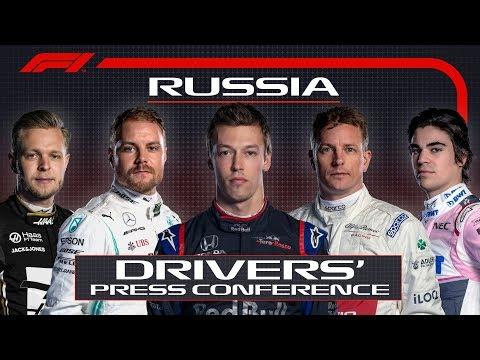 2019 Russian Grand Prix: Pre-Race Press Conference