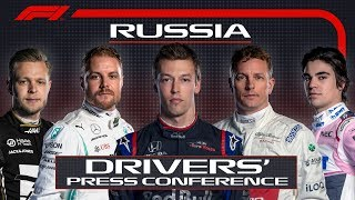 2019 Russian Grand Prix: Pre-Race Press Conference