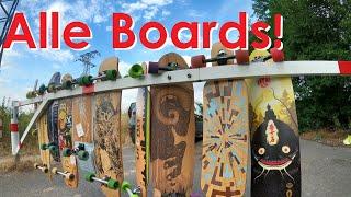 ALLE unsere LONGBOARDS: Globe, Loaded, Landyachtz etc - Wir zeigen sie euch! | Longboarding Germany