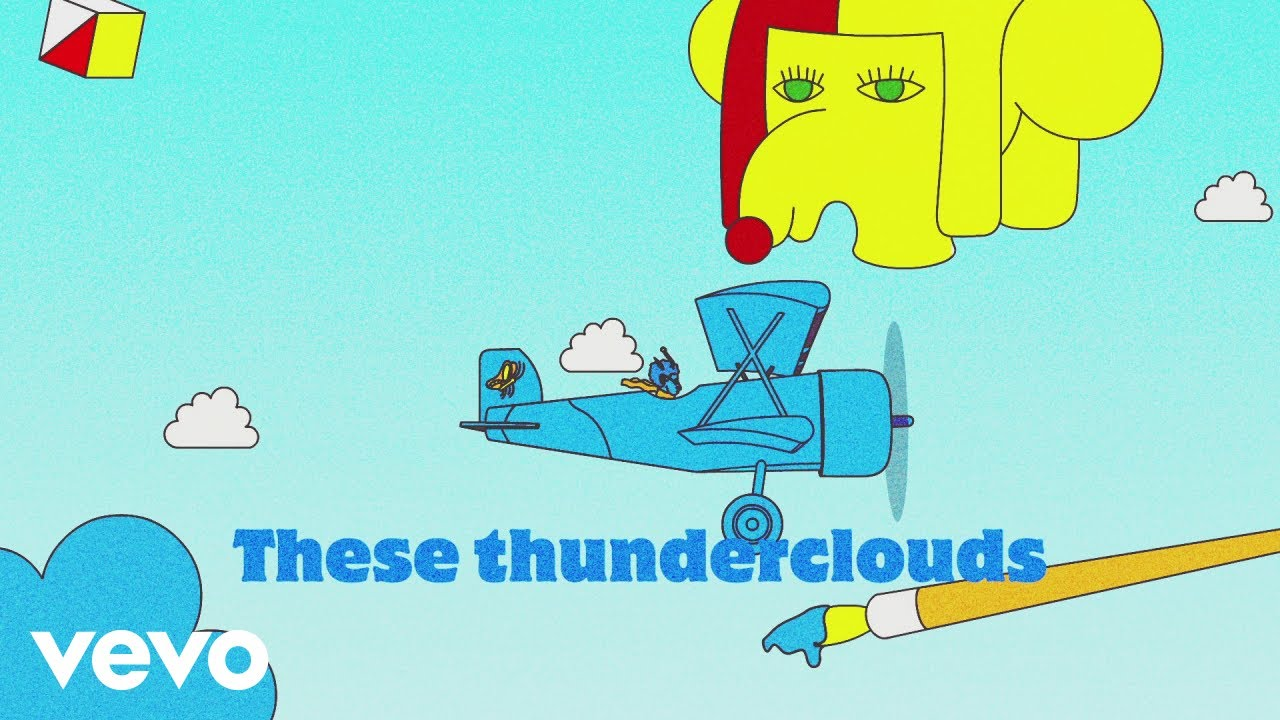 LSD ft. Sia, Diplo, Labrinth — Thunderclouds (Lyric Video)