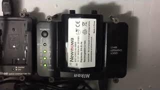 Newmowa EN EL4,EN EL4A Rechargeable Li ion Battery,  Fairly good replacement batteries for my NIKON
