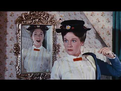 A spoonful of sugar   julie andrews in mary poppins 1964