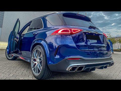BRUTAL 2021 GLE 63 S AMG SOUND! First Look + AUTOBAHN RUN