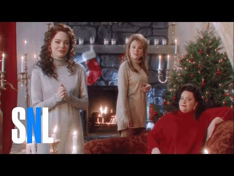 The Christmas Candle (Emma Stone) - SNL