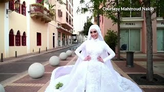 Beirut Explosion Rocks Brides Photoshoot