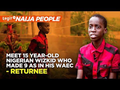 Meet 15 Year-Old Nigerian Wizkid Who Made 9 As in his WAEC   Legit TV